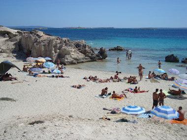 Platja de ses salines Ibiza
